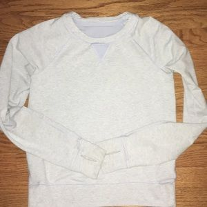 Lululemon Soft Lilac Voyage Crew Neck Pullover